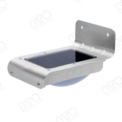Solar Wall Lights With Remote Panel : Solar Powered Wall Mount Outdoor Light BuyThingsOnline
